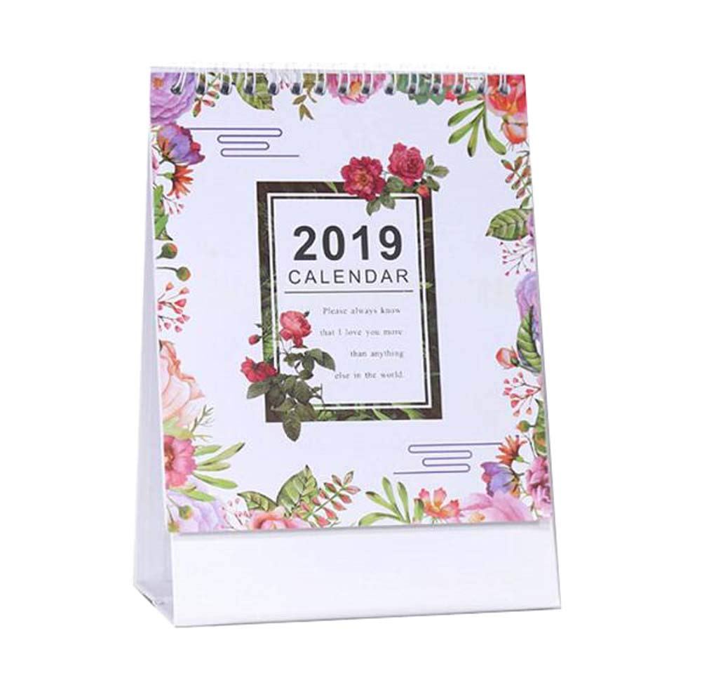 Monthly/Daily Schedule Notebook,2018-2019 Office/Home/School Calendar,C02