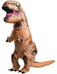 Rubie's Costume Co Men's Jurassic World T-Rex Inflatable Costume