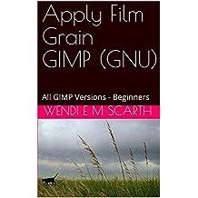 Apply Film Grain GIMP (GNU): All GIMP Versions - Beginners (GIMP Made Easy Book 65) (English Edition)