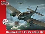 1/32 Heinkel He 111 Ps of KG 27 (Red Series Kagero Decals)