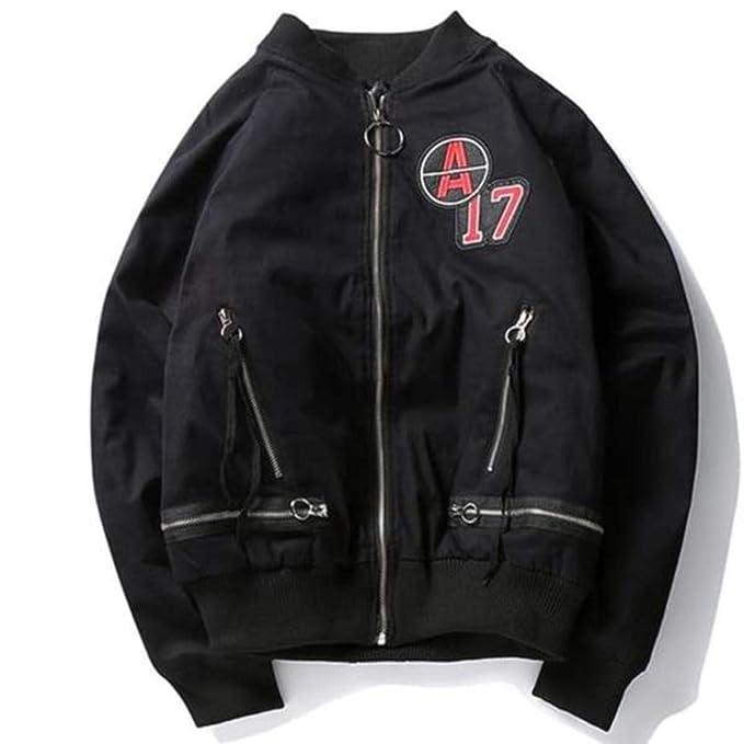 Chaqueta Bomber A17 para Hombre Estilo Urbano-Streetwear ...
