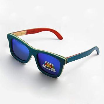 Gafas De Sol,Nueva Patineta Madera Verano Gafas Gafas Gafas ...