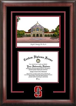 Amazon.com : Stanford University Spirit Graduate Frame with Campus ...