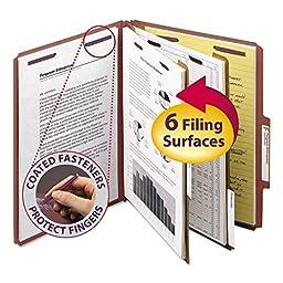 SMD14075 - Smead Pressboard Classification Folders