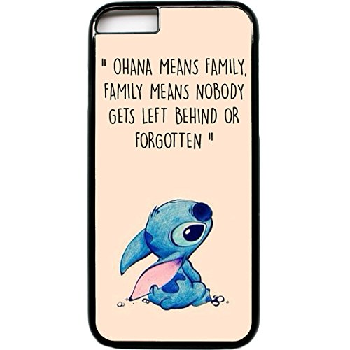 iPhone 6 Handy Fall Ohana means family Lilo Stich Zitat