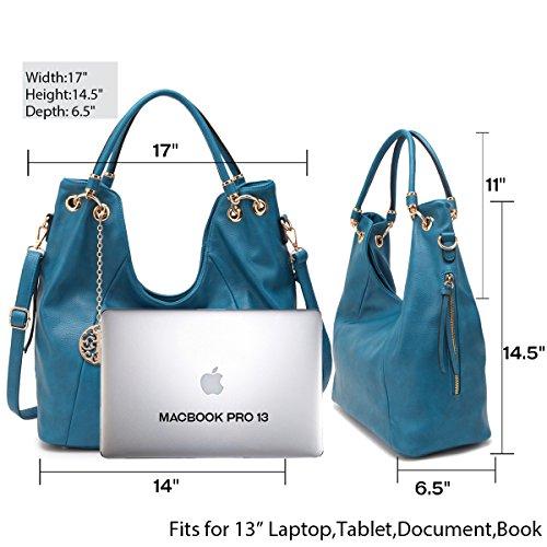 Handbag Bag Womens Fashion Tote Large Satchel Hobo Purse Handle Designer Top Black Shoulder wwSYWfB