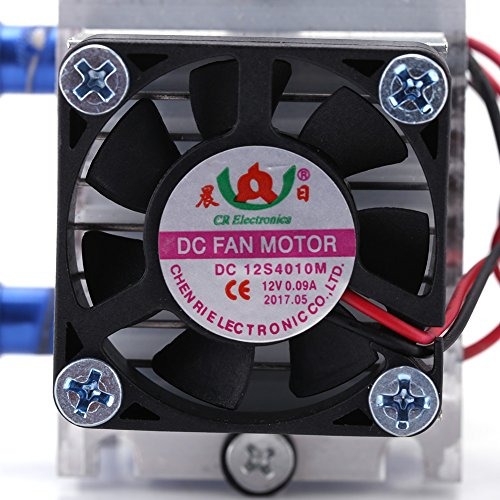 DIY 144W Dual-chip Thermoelectric Peltier Refrigeration TEC1-12706 Cooler with Water Cooling System (Single Cooler) by Walfront (Image #7)