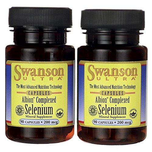 Swanson Albion Complexed Selenium 200 mcg 180 Capsules For Sale
