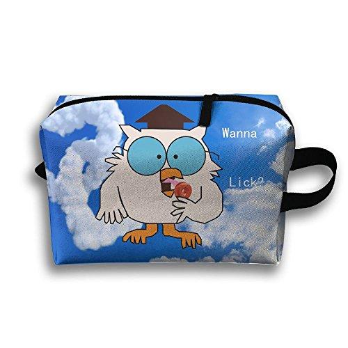 Tootsie Roll Pop Wanna Lick Travel Bag Multifunction Portable Toiletry Bag Organizer Storage
