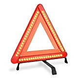 YKL LED Safety Warning Triangle Reflector 17 Inch Emergency Road Flasher