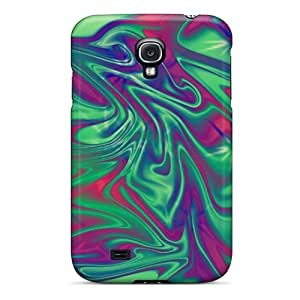 New Tpu Hard Case Premium Galaxy S4 Skin Case Cover(aura Star Abstract)