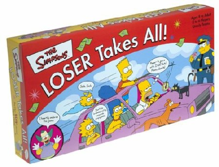 Simpson's Losers Take All Board Game by Rose Art Industries Inc.https://amzn.to/2CIdBq5