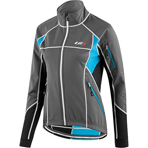 Louis Garneau Enerblock Women's Cycling Jacket Gray/Black, S