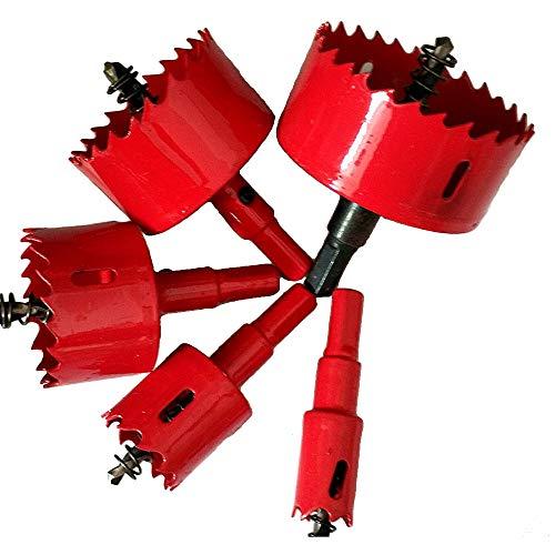 M42 Bi-Metal Wood Hole Saws Bit Tooth Cutting Opener Drill Bit for Woodworking DIY Wood Cutter Drill Bit (160mm)