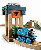 Thomas Wooden Railway - Crosby Coal Loader Hopper and Car - Loose Brand New