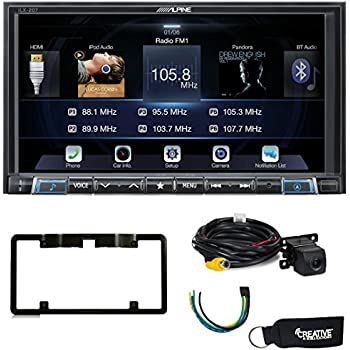 alpine ilx 207 compatible with apple car play android auto rear view camera. Black Bedroom Furniture Sets. Home Design Ideas