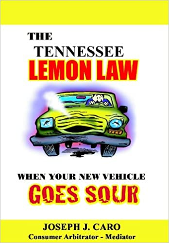 Read A Book Online For Free No Download The Tennessee Lemon Law When