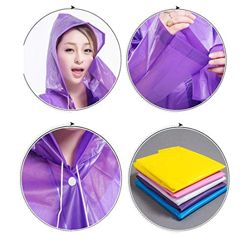 Classiche Con Cappuccio Rain Grün Waterproof Jacket Fashion Donne Eva Laisla Ed Poncho Raincoat Emergency Rainwear Yellow ScvgWzA8f