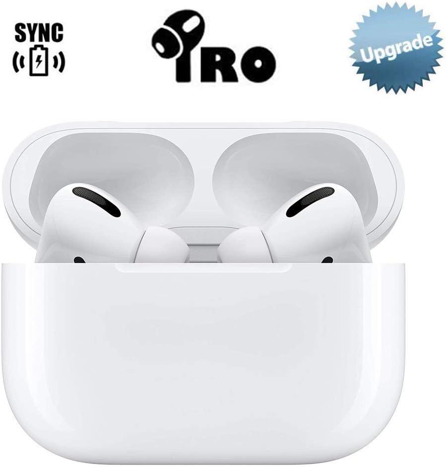 Auriculares Inalámbricos Bluetooth 5.0 con Caja de Carga Rápida, 3D Estéreo Toque Auriculares con HD Mic, Auriculares Inalámbricos a Prueba de Agua Auriculares Deportivos