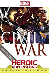 Marvel Heroic Roleplaying: Civil War Event Book Premium