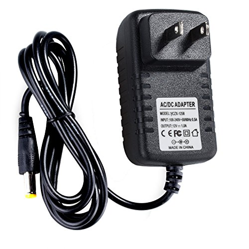 Lysignal DC 12V 1A Switching Power Supply Adapter for AC 110V-240V 50Hz/60Hz 2.1mm with 4ft Cable (Volt Switching 220)