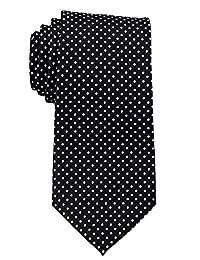 Mens Big and Tall XLPolka Dot Necktie