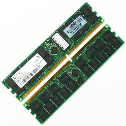 4GB (2x2GB) DDR PC-3200 400MHz 184pin ECC HP 379300S21 379300-S21