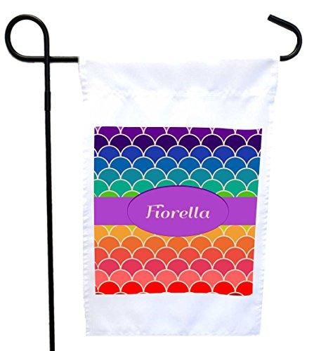 Rikki Knight Fiorella Name on Rainbow Scallop House or Ga...