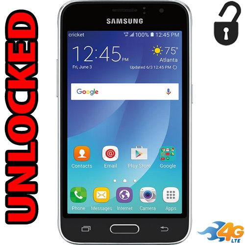 Samsung Galaxy Amp 2 4G LTE Unlocked US Latin & Caribbean Bands J120AZ 5MP Android 6.0