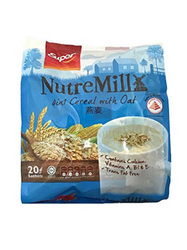 Super NutreMill Cereal (Oat) 700g (1 Bag with 20 Sachets)