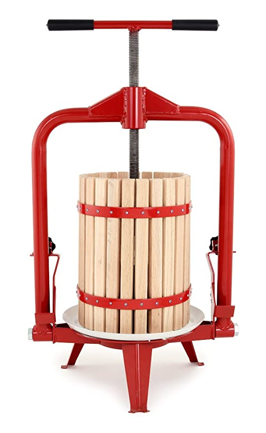 TSM Products TSM Harvest Fruit and Wine Press, 18-Liter