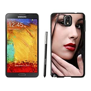 NEW Custom Designed For HTC One M7 Case Cover Phone With Mac Red Lipstick Portrait_Black Phone