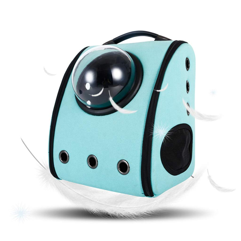 QIQI Pet Dog Carrier Backpack Breathable Bubble Bag For Cats And Dogs