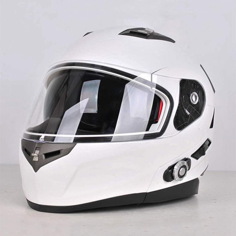 RANR Motocicleta Modular Bluetooth Casco Dot Motocicleta ...