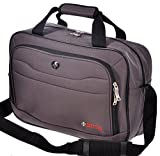 "Swiss Travel Products 16"" Business Laptop Bag Charcoal"