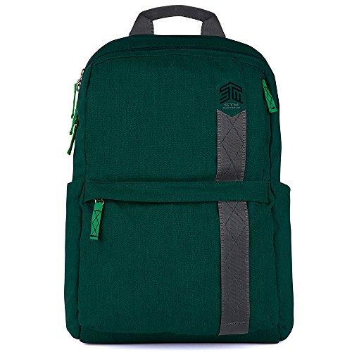 """STM Banks Backpack For Laptop & Tablet Up To 15"""" - Botanical Green (stm-111-148P-08)"""