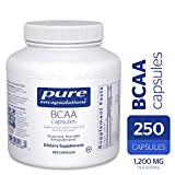 Pure Encapsulations - BCAA Capsules - Hypoallergenic Supplement to Support Muscle Function During Exercise* - 250 Capsules