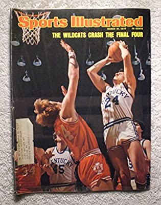 Mike Flynn - Kentucky Wildcats - Final Four - Sports Illustrated - March 31, 1975 - College Basketball - NCAA Championship - SI