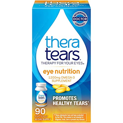 TheraTears Nutrition Dry-Eye Relief Capsules [Omega-3 Supplement] 90 ea (Pack of 7)