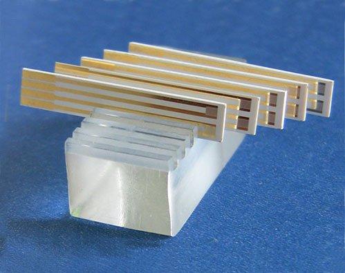 10 Um Interdigitated Electrode  Box Of 10 Electrodes