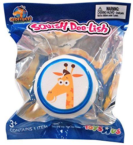 Toys R Us GEOFFREY Squish Dee Lish Exclusive Birthday Club