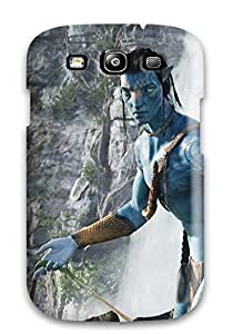 Defender Case For Galaxy S3, Jake Sully In Avatar Movie Pattern