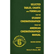 Selected Tables, Charts and Formulas for the Student Cinematographer from the American Cinematographer Manual Second Edition
