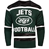FOCO New York Jets Ugly Glow In The Dark Sweater - Mens - Mens Medium