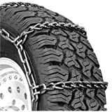 Security Chain Company QG3229 Quik Grip Wide Base Type DH Light Truck Traction Chain - Set of 2