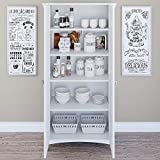 Bush Furniture Salinas Kitchen Pantry Cabinet