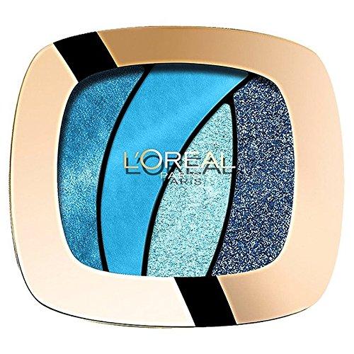 ロレアルパリカラーリッシュクワッド、スペル15 x4 - L'Oreal Paris Color Riche Quad, Turquose Spell S15 (Pack of 4) [並行輸入品] B072HJ7GJM