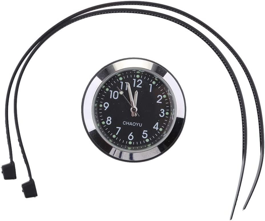 Flameer Universal Motorrad Lenkeruhr Thermometer Elektronik
