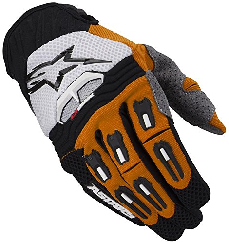 Star Motocross noir De 2013 Orange Tech Alpinestars Gants aqCxWwPAcB