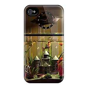 New Style Obamacase Hard Case Cover For Iphone 4/4s- Abstract 3d